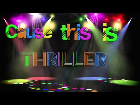 thriller Kinetic text