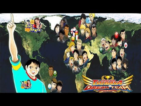 "DIRECTO: ""2 ruletas, 2 jugadores 0.01, Japoneses VS Extranjeros"" - Captain Tsubasa Dream Team"