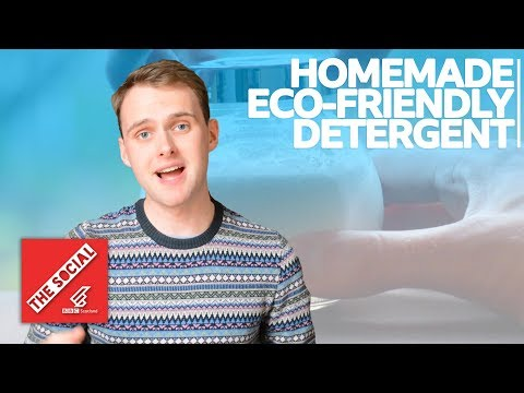 BBC The Social: Homemade Eco-Friendly Detergent