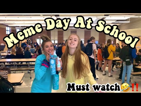 MEME DAY AND CHARACTER DAY// SPIRIT WEEK