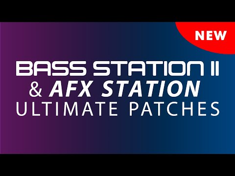 Ultimate Patches Releases Bass Station Master Collection Vols 1&2