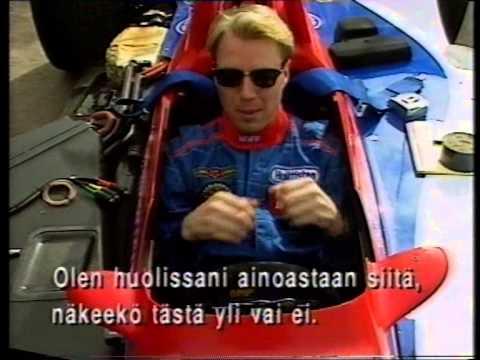 JJ Lehto Indycar testi
