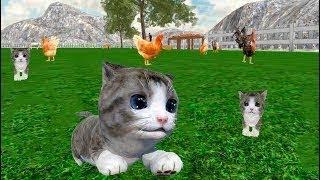 СИМУЛЯТОР Маленького КОТЕНКА #6/cat simulator online