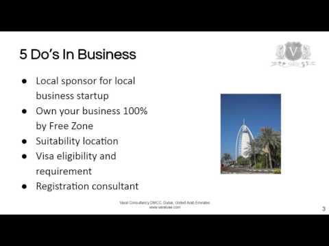 Business Startup Dubai | 5 Do's And Don'ts To Make Your Business Profitable