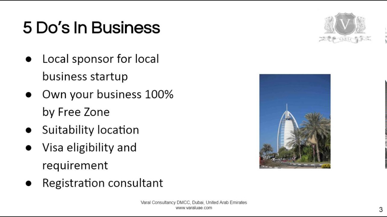 Business Startup Dubai | 5 Do's And Don'ts To Get Started