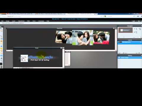 Cách tạo banner ảnh tĩnh với Photoshop online (nâng cao)