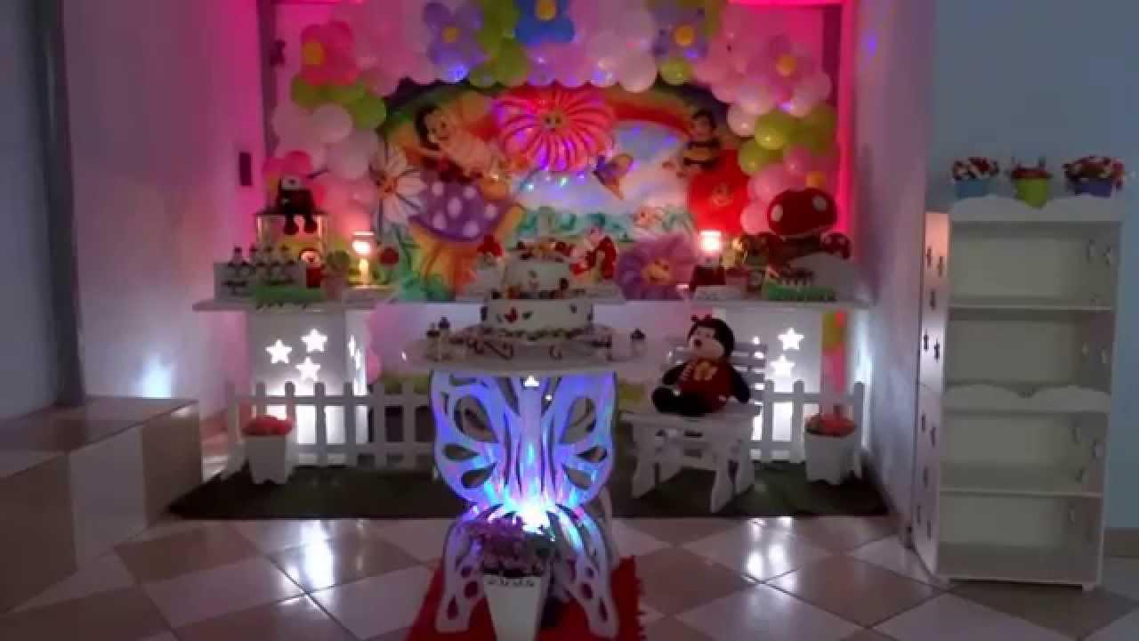 Decoração provençal infantil com o tema Jardim Encantado  YouTube