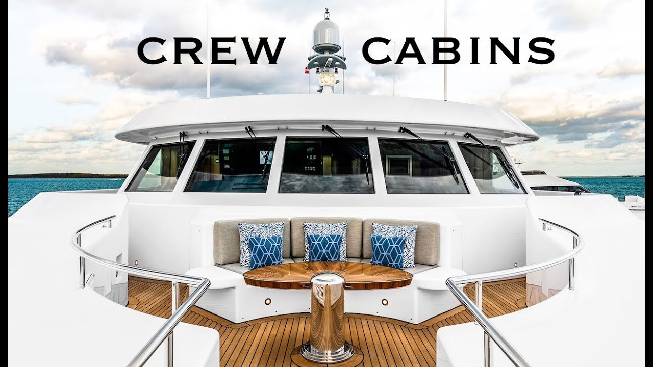165ft Mega Yacht Crew Cabins