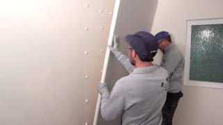 How to install the DriLyner RF system - a drywall masonry lining system | British Gypsum