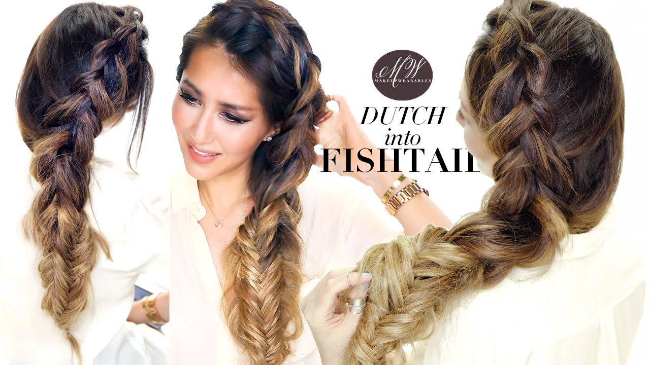 big braid hairstyle cute summer
