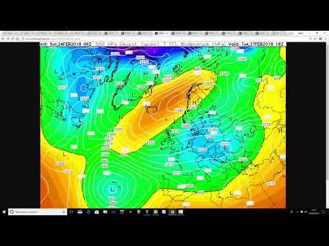 Week Ahead Forecast (24/02/18)