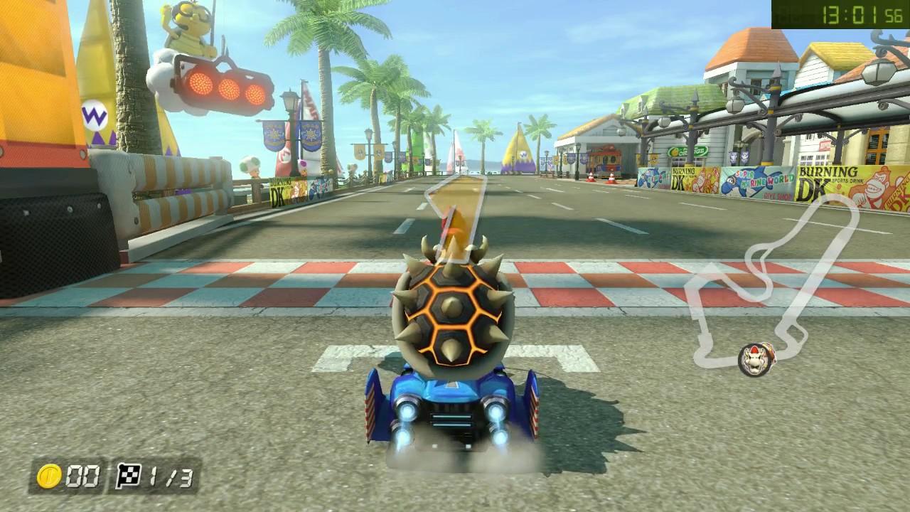 Mario Kart 8 Deluxe All Tracks 150cc Speed Run In 2 05 08 Hard