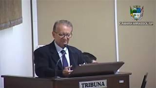 7ª Sessão Ordinária - Vereador Vanderlei Pinatto