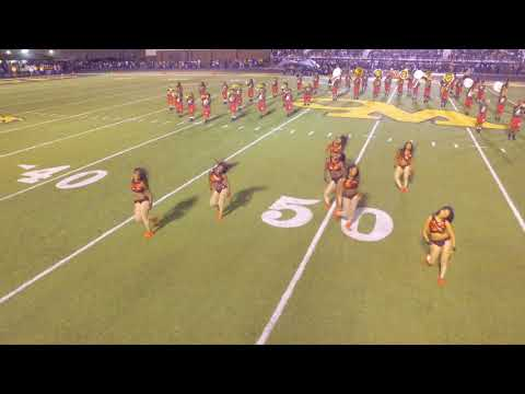 Pine Bluff High Field  DRONE VIEW  Watson Chapel Game 2017