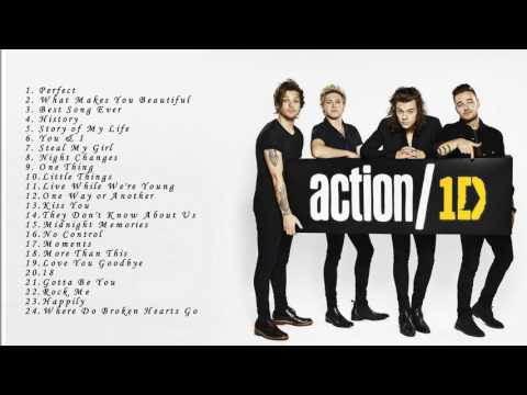 ONE DIRECTION Songs - ONE DIRECTION Greatest Hits Collection 2017