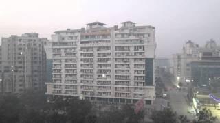 Day Break in Vaishali, Ghaziabad धीरे धीरे सुबह हुई , जाग उठी ज़िन्दगी