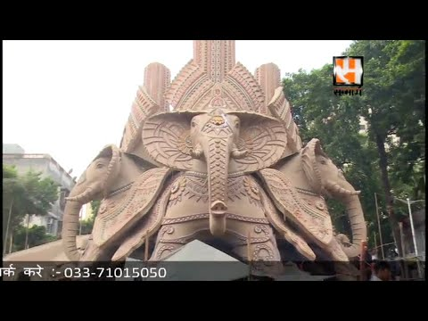 Suruchi Sangha New Alipore Durga Puja Final Preparation