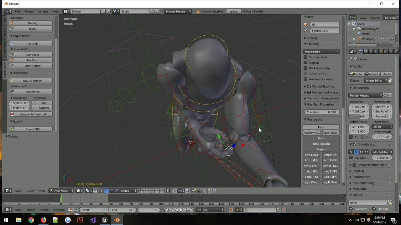 BoneBreaker Install and use - Unreal Engine 4 Mannequin FBX animation -  FREE ADDON!