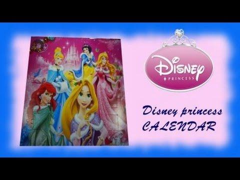 Disney princess CALENDAR