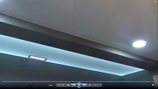 видео Подвесные потолки из гипсокартона в зале: фото интересных решений