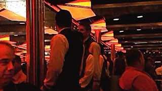 Carnival Fantasy Dining Room Crew Serenades Us YouTube