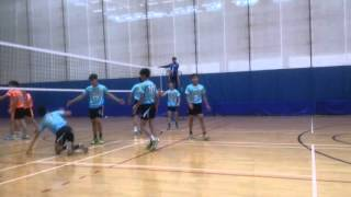 2015-11-28荃灣及離島區男子甲組學界四強排球賽 仁濟