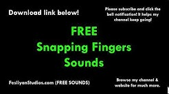 Snapping Fingers Free Sound Effect (Various Versions!)