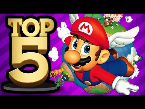 TOP 5 VIDEO GAMES OF THE '90s