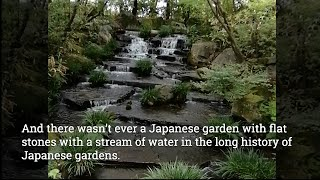 Japanese Garden 流れ Nagare - Stream explained by Mr. Okita