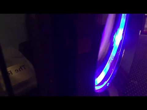 My Sharper Image Led Light Bluetooth Tri Speaker System Youtube