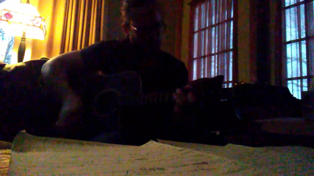 Nine inch nails capital G acoustic cover - YouTube
