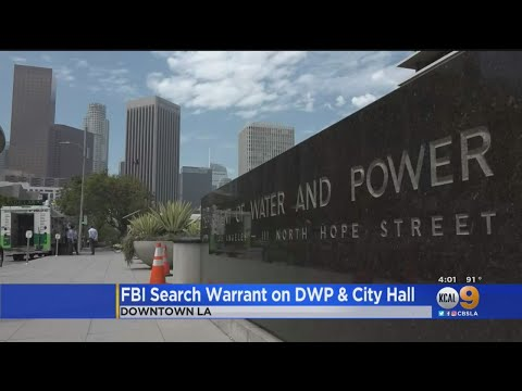 FBI Raids LADWP Offices In Downtown LA