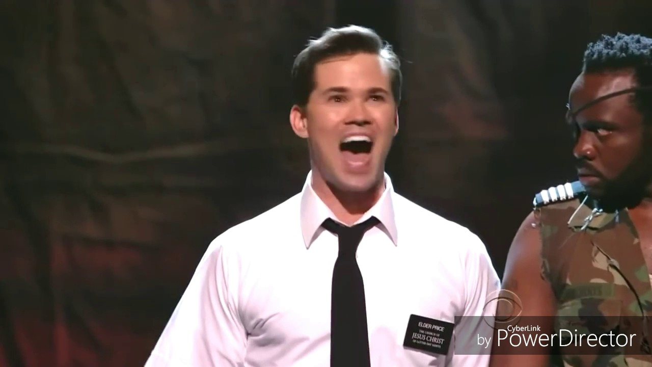 'I Believe' but everytime Andrew Rannells licks his lips it gets 0.5x slower