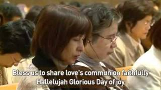 Song  Song of the Banquet, Holy Song, Unification Church Philippine and Japanese Missionary Sisters