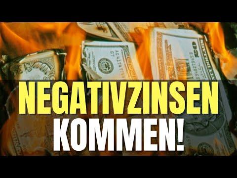 NEGATIVZINSEN KOMMEN 🔥 DEUTSCHE HORTEN GELD 🔥 GOLD FÄLLT 🔥 NEUE EZB GELDSTRATEGIE 🔥 JP MORGAN WARNT