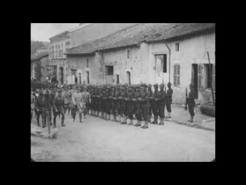 2nd Div. Training in 3rd (Bourmont) Training Area and with French 2nd Army, Jul. 1917-Mar. 17, 1918
