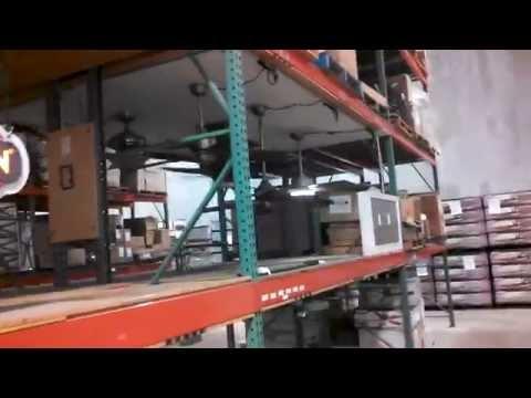 Fanimation Warehouse Display Part 2