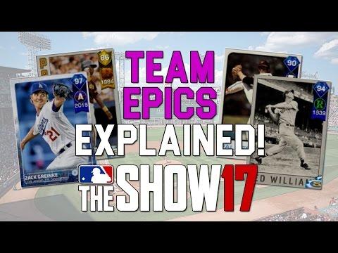 How To Finish Team Epics!   MLB 17 The Show - Diamond Dynasty Gameplay