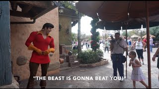 Little Girl Puts Gaston In His Place: Disney World 2014