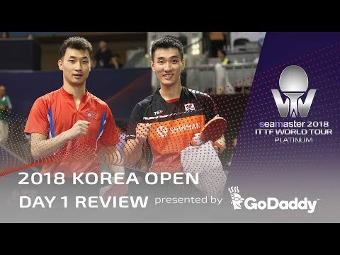 2018 Korea Open | Day 1 Review Presented by GoDaddy