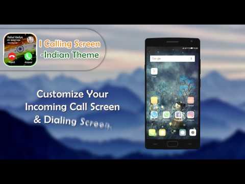 I Calling Screen   Indian Theme