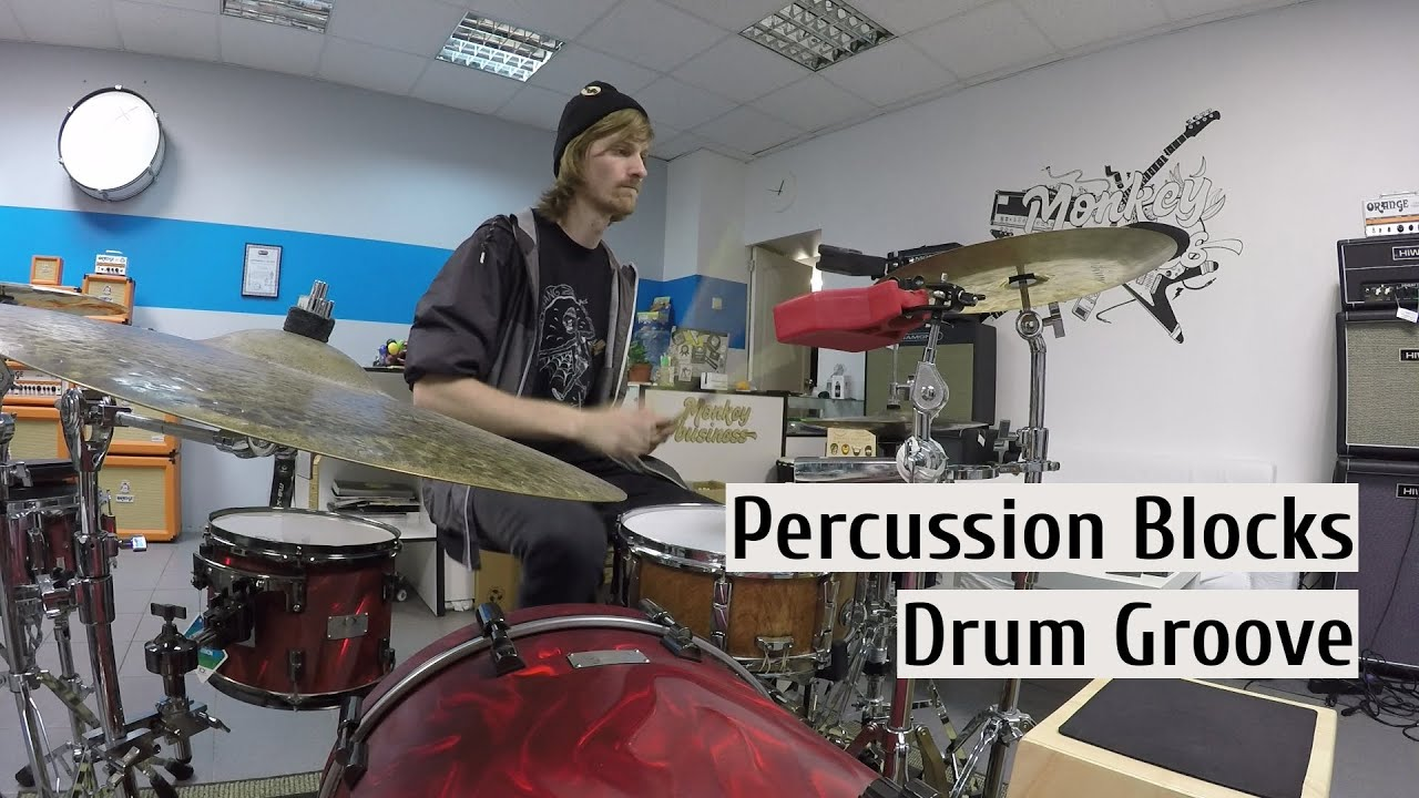 percussion block drum groove can you play that youtube. Black Bedroom Furniture Sets. Home Design Ideas