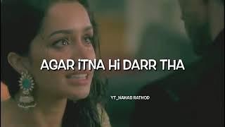 Aashiqui 2 ka mobile ringtone song