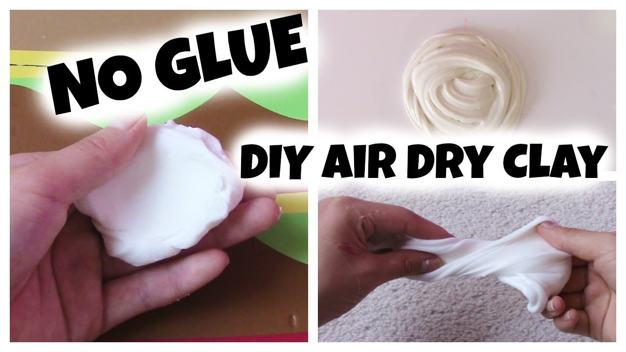 How to make air dry clay for butter slime youtube how to make air dry clay for butter slime ccuart Image collections