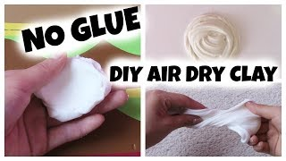 How to make Air Dry Clay for Butter Slime