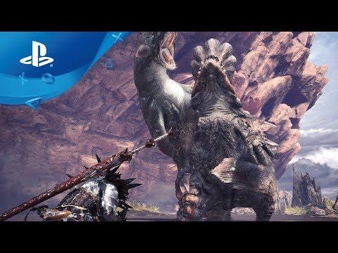 Monster Hunter: World – Beta Gameplay und Horizon Zero Dawn Special Trailer [PS4]