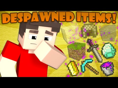 Thumbnail: Where Despawned Items Go - Minecraft
