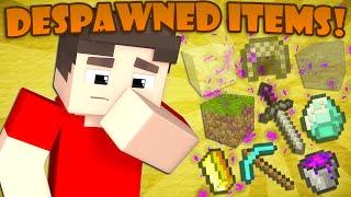 Where Despawned Items Go - Minecraft