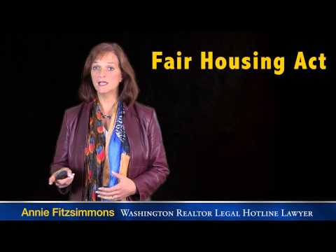 Fair Housing Act:  Part One - Protected Classes