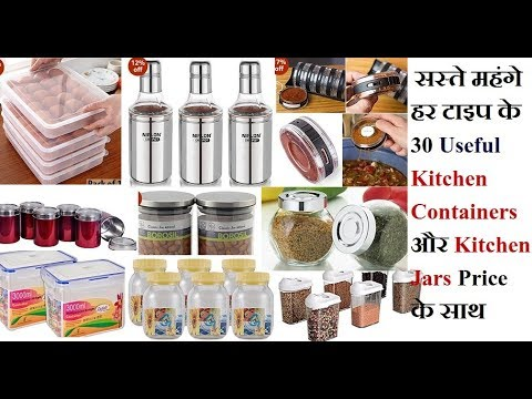 30 useful different type kitchen containers kitchen storage jar with priceAmazon India collection